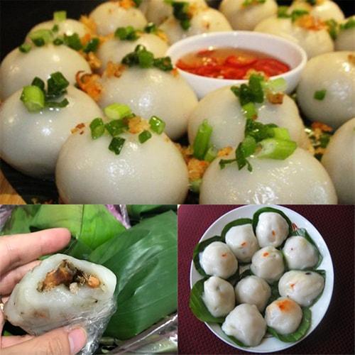 Bánh ít nhân mặn Bình Định